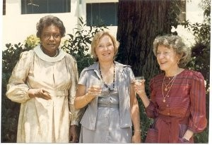 Verneice Thompson, Rosemary Lukton, and Jean Sanville